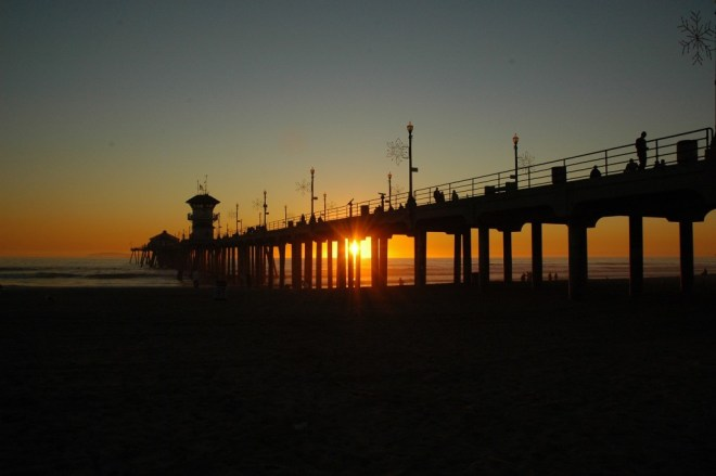 Huntington Beach Pier, December 4, 2007