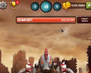 Tap Robots Endless War unlimited coins mod