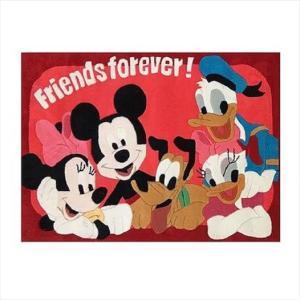 Χειροποίητο Χαλί Disney Friends Forever (115x168cm)
