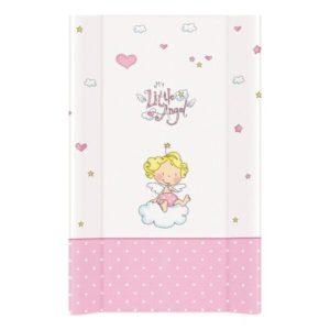 Αλλαξιέρα Σκληρή 50χ80cm Lorelli Bertoni- Pink Little Angel