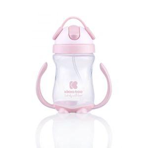 Κύπελλο με καλαμάκι Kikkaboo Sippy cup 300ml pink