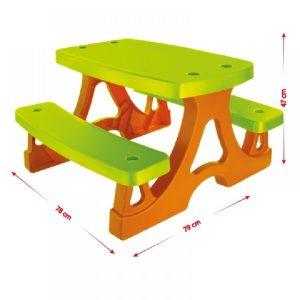 Παιδικό Τραπεζάκι Mochtoys Garden Table Picnic