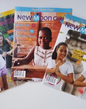 3 covers of new moon girls magazine 2018