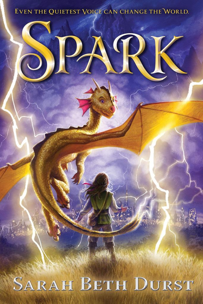Book cover for Spark by Sarah Beth Durst
