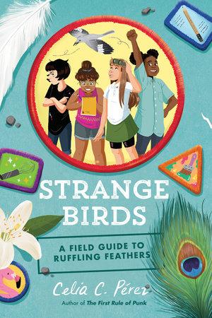 Book cover for Strange Birds by Celia C. Perez