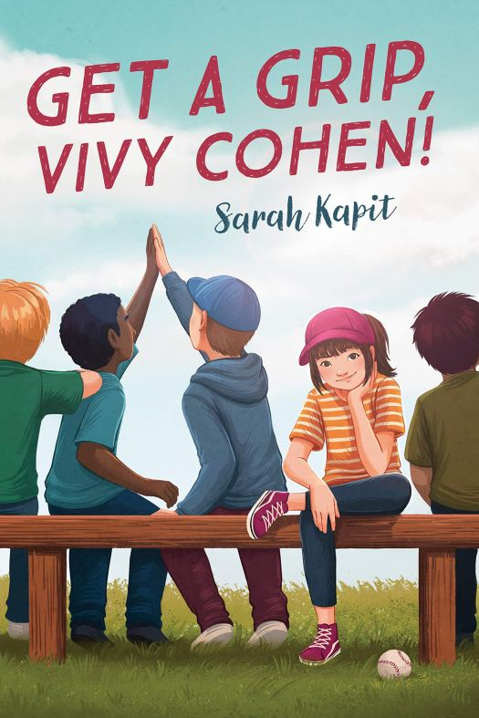 Book cover image for Get a Grip Vivy Cohen by Sarah Kapit