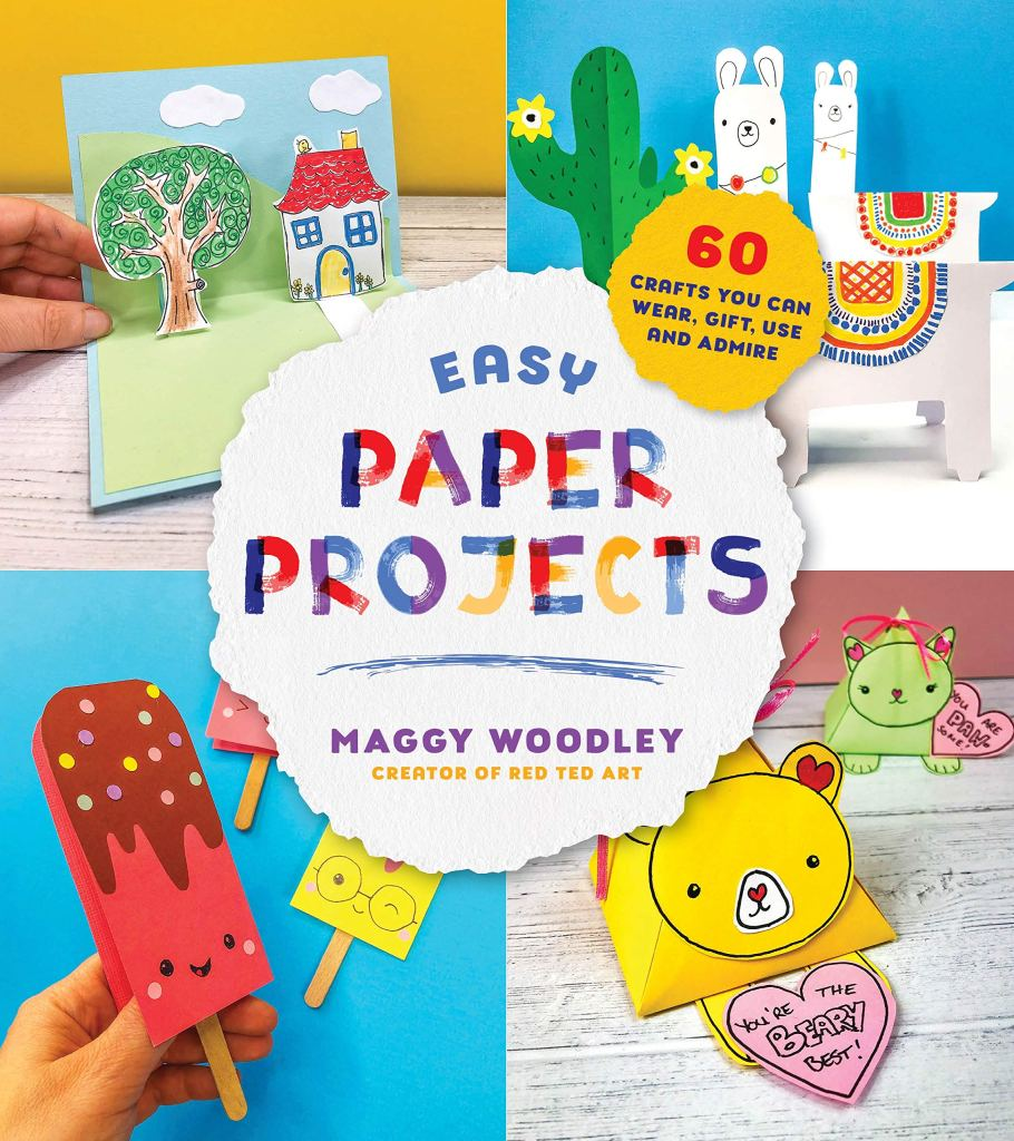 Cover image for Easy Paper Projects by Maggy Woodley