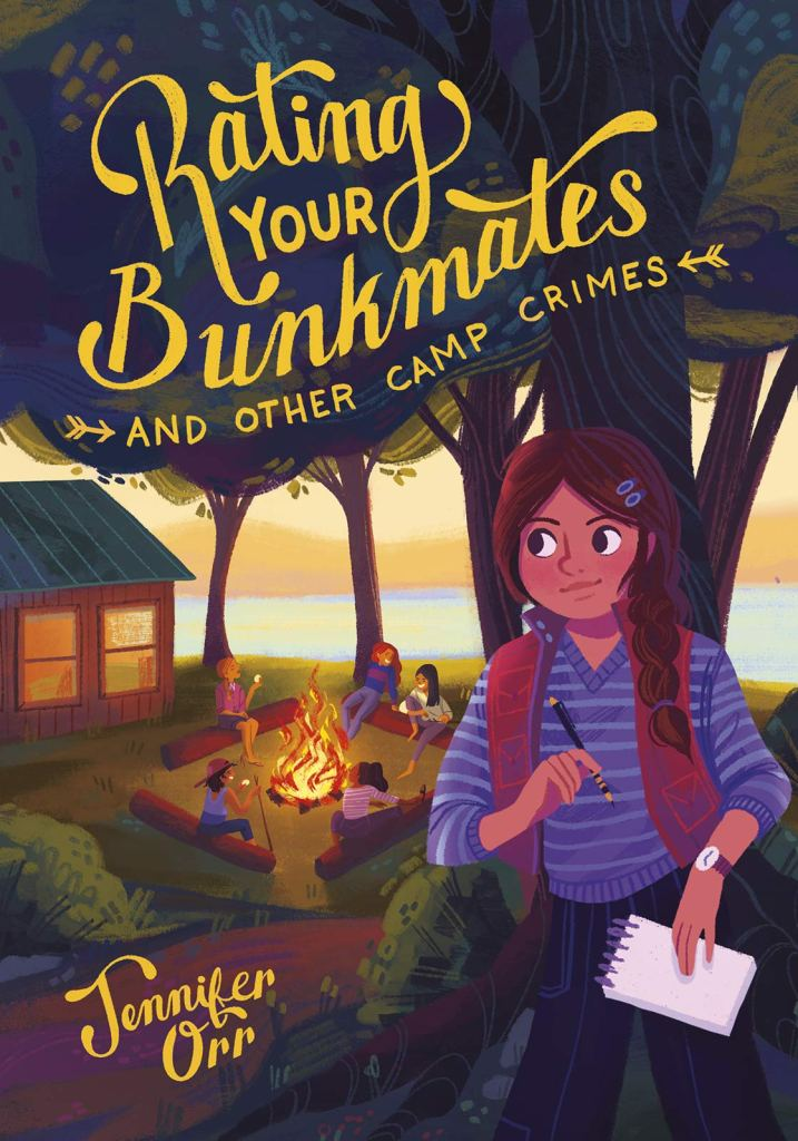 Cover image for Rating Your Bunkmates and Other Camp Crimes by Jennifer Orr