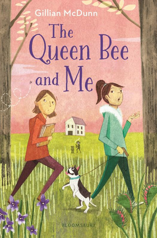 Book cover image for The Queen Bee and Me by Gillian McDunn