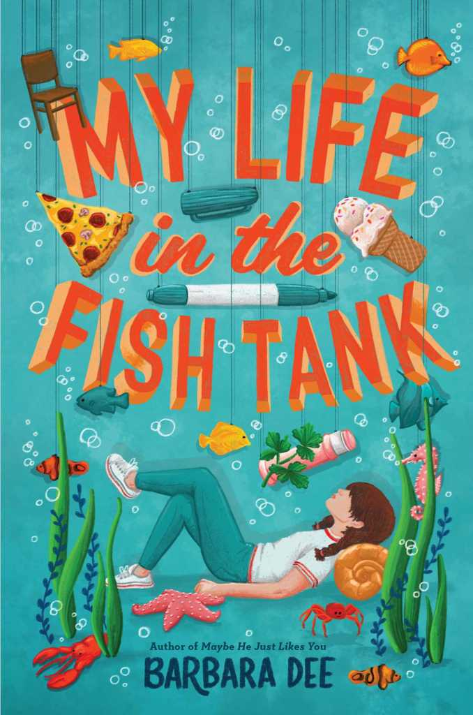 Book cover image for My Life in the Fish Tank by Barbara Dee