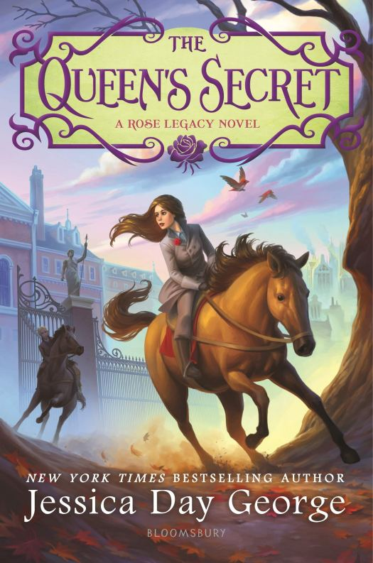 Book cover image for The Queen's Secret by Jessica Day George