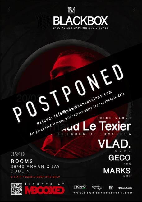 covid19 - postponed event