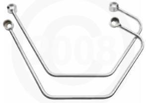 Saddlebag supports for Metric Cruisers