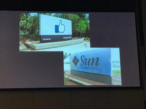 Facebook and Sun sign