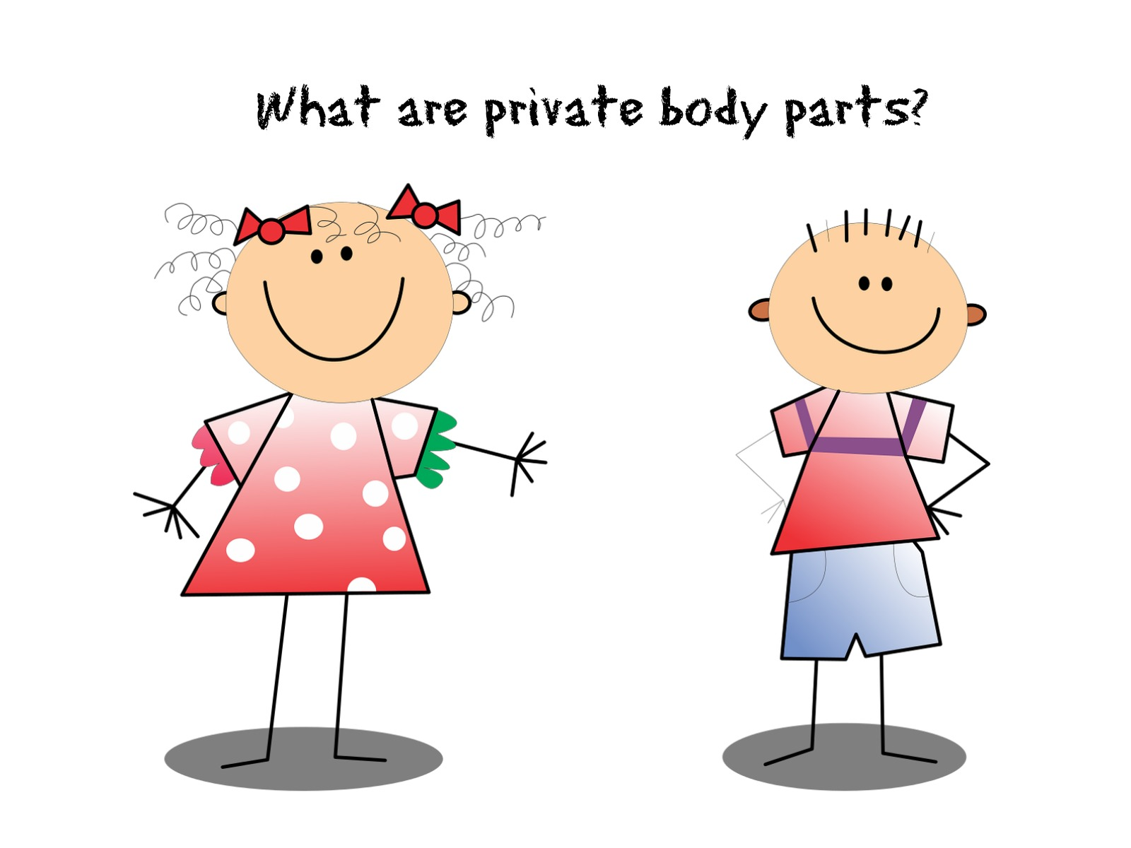 Teaching Toddlers About Private Parts