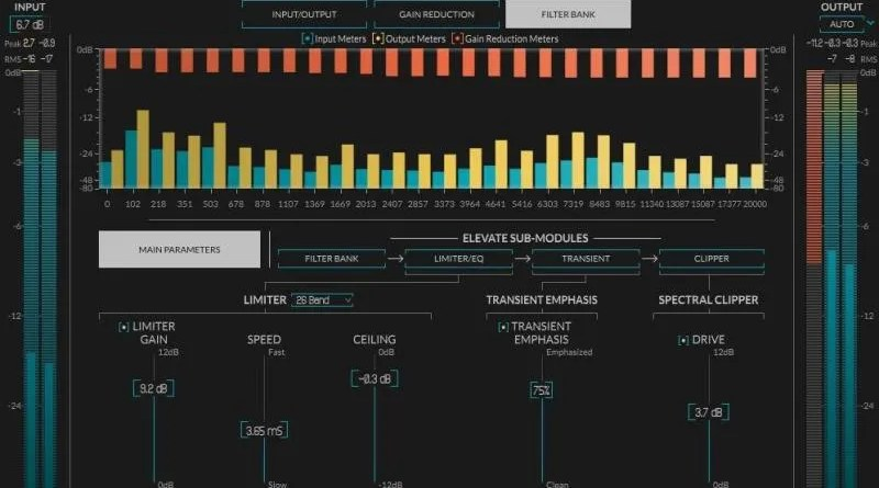 Newfangled Audio Elevate recensione mastering suite