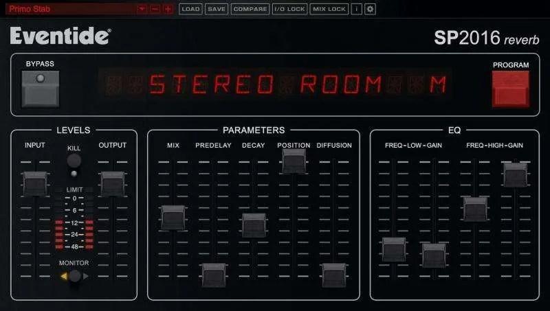 Eventide SP2016 Reverb: il remake virtuale di un riverbero vintage che suona ancora benissimo