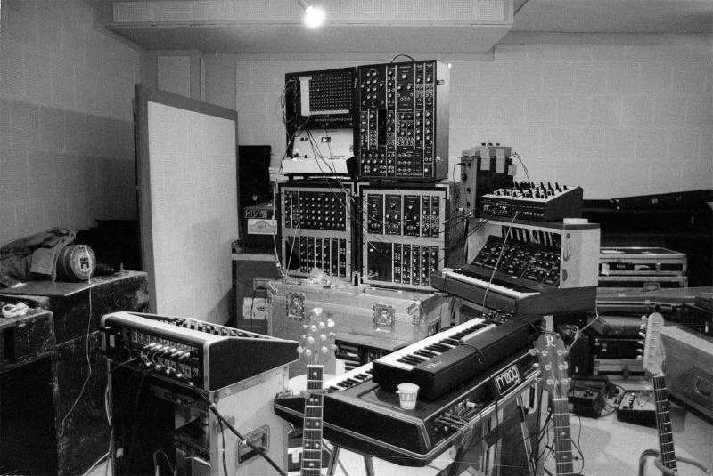 Larry Fast - Equipment for 1977 Peter Gabriel Tour (da Facebook)