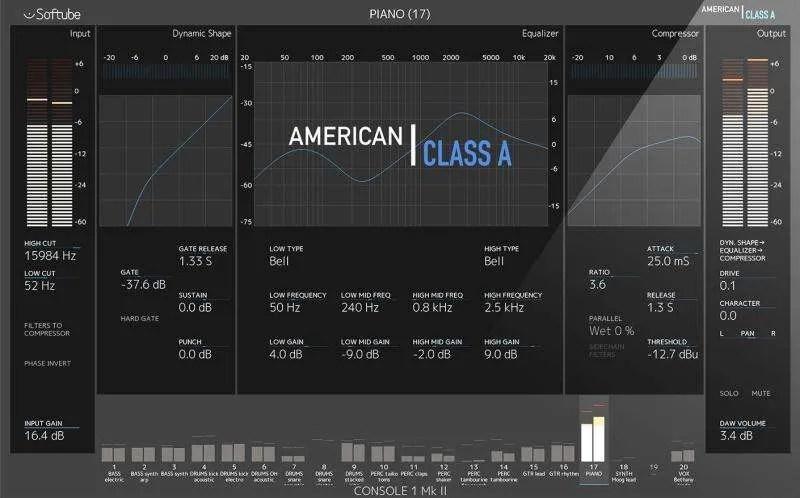 Softube Console 1 - American Class A