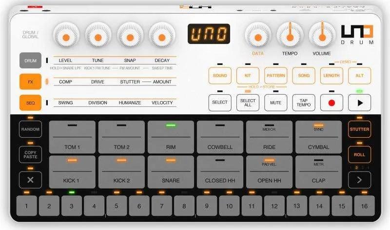 IK Multimedia UNO Drum - Top