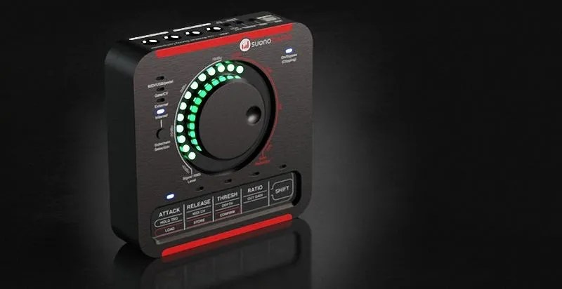SUONOBUONO nABC, compressore analogico stereo con sidechain e programmabilità