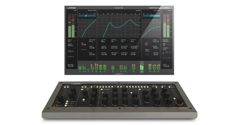 Softube Console 1: le channel strip SSL XL 9000K, British Class A e Summit Grand Channel