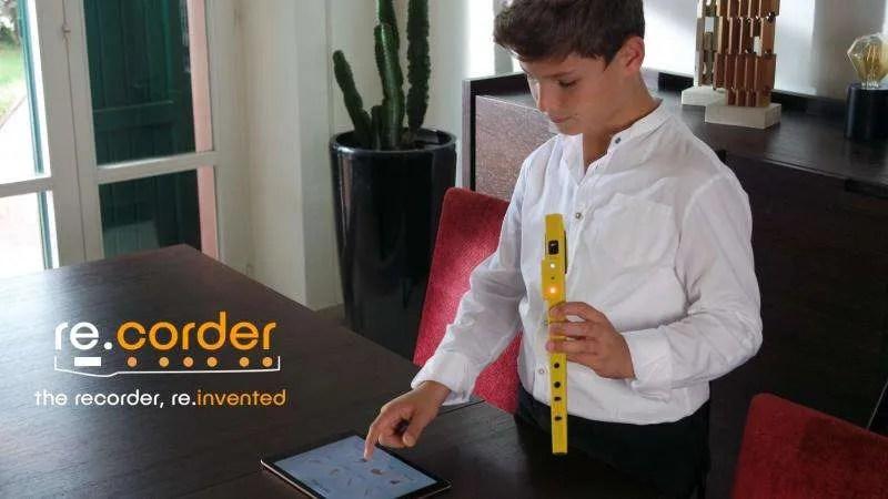 Artinoise re.corder, il flauto dolce reinventato con l'elettronica