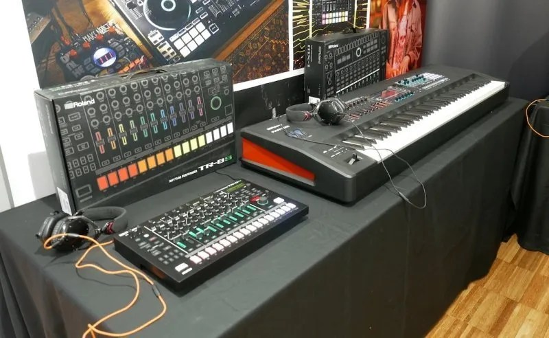 Soundmit 2019 - Roland stand