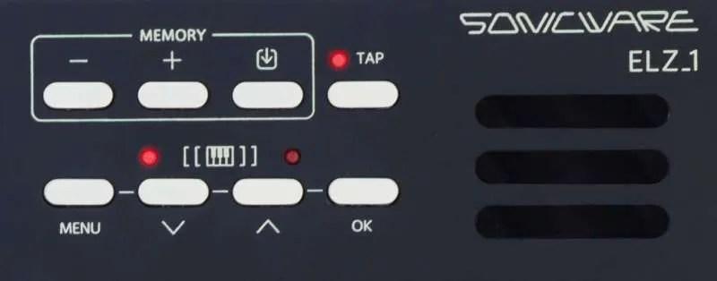 Sonicware ELZ_1 - Area destra del pannello