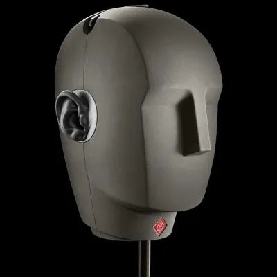 Audio 8D - La testa binaurale di Neumann