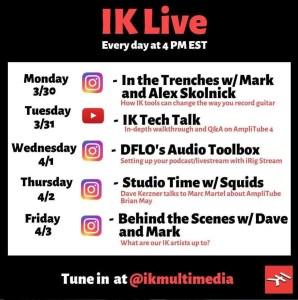 IK Multimedia Live