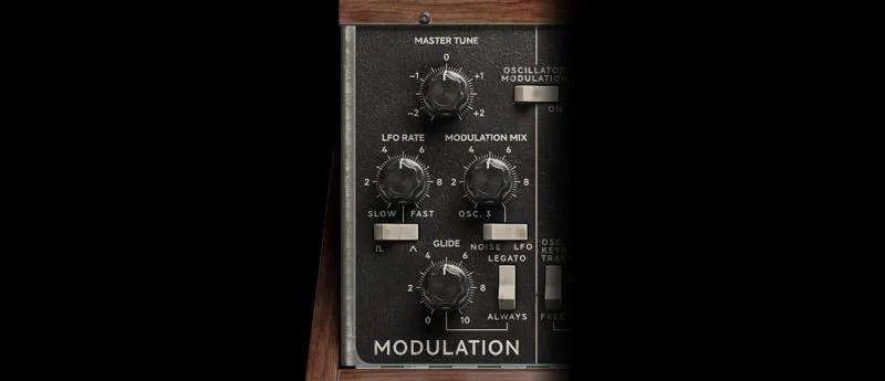 Softube Model 72 - sezione modulazioni