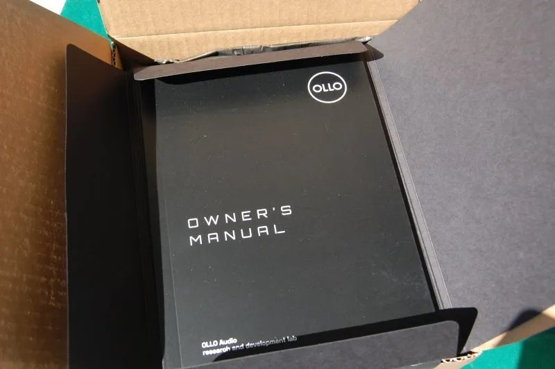 OLLO S4R Unboxing - Manual