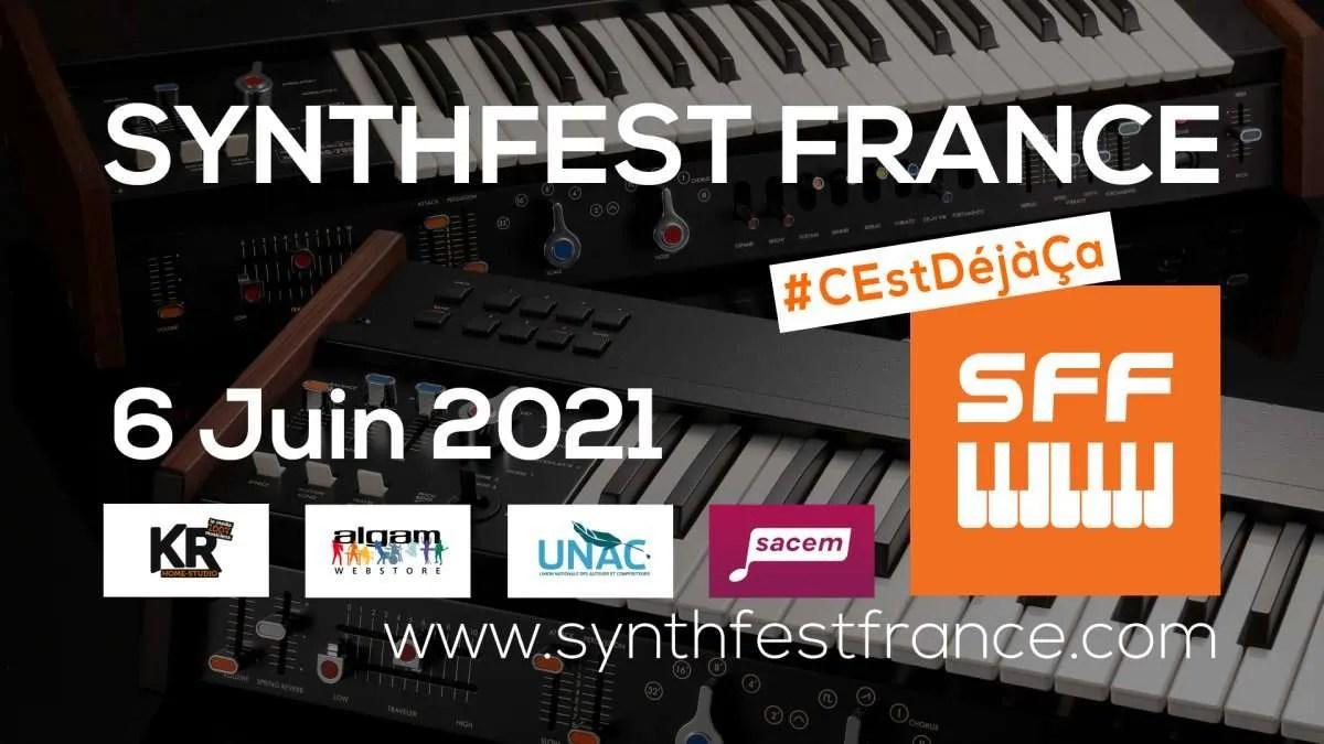 SynthFest Francia 2021: torna il festival francese di synth e musica elettronica