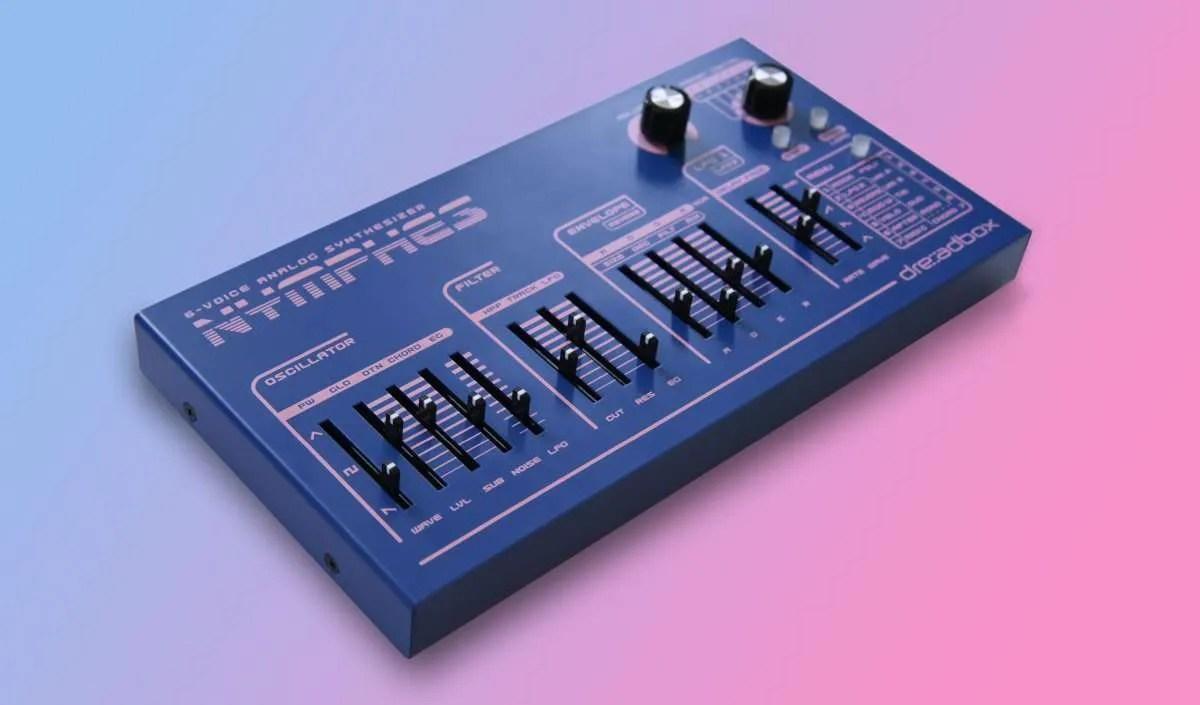 Dreadbox Nymphes: polifonico a 6 voci… real analog… 499 €… Bomba termonucleare?!?