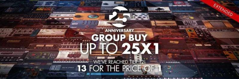 Il group buy per celebrare il 25° anniversario di IK Multimedia
