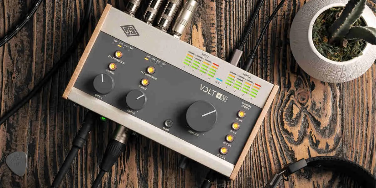 Universal Audio Digital serie Volt: UAD sbarca in fascia budget