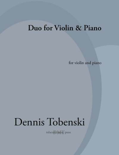 Tobenski Duo for Violin and Piano