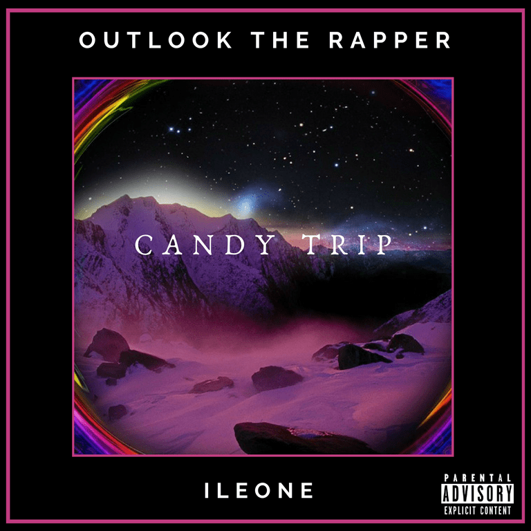 Guided by the hard-hitting drums and ghastly piano loop of the beat, ILEONE & Outlook the Rapper release 'Candy Trip'