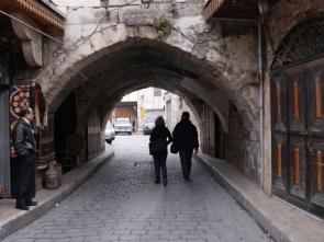 alley in al-Jdeideh neighbourhood, in the Old City of Aleppo, Syria