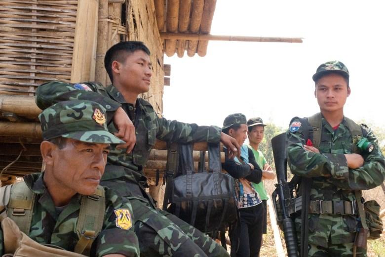 Karen National Liberation Army (KNLA) Brigade 5 Leaders - New Naratif