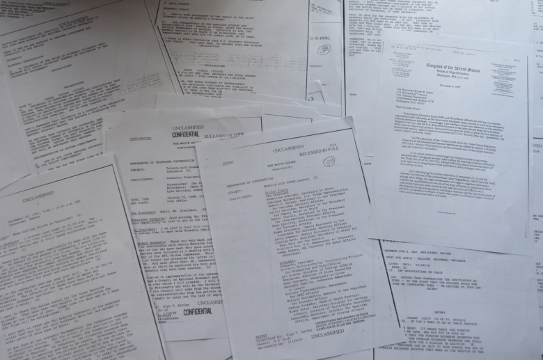 Cache of Documents - New Naratif