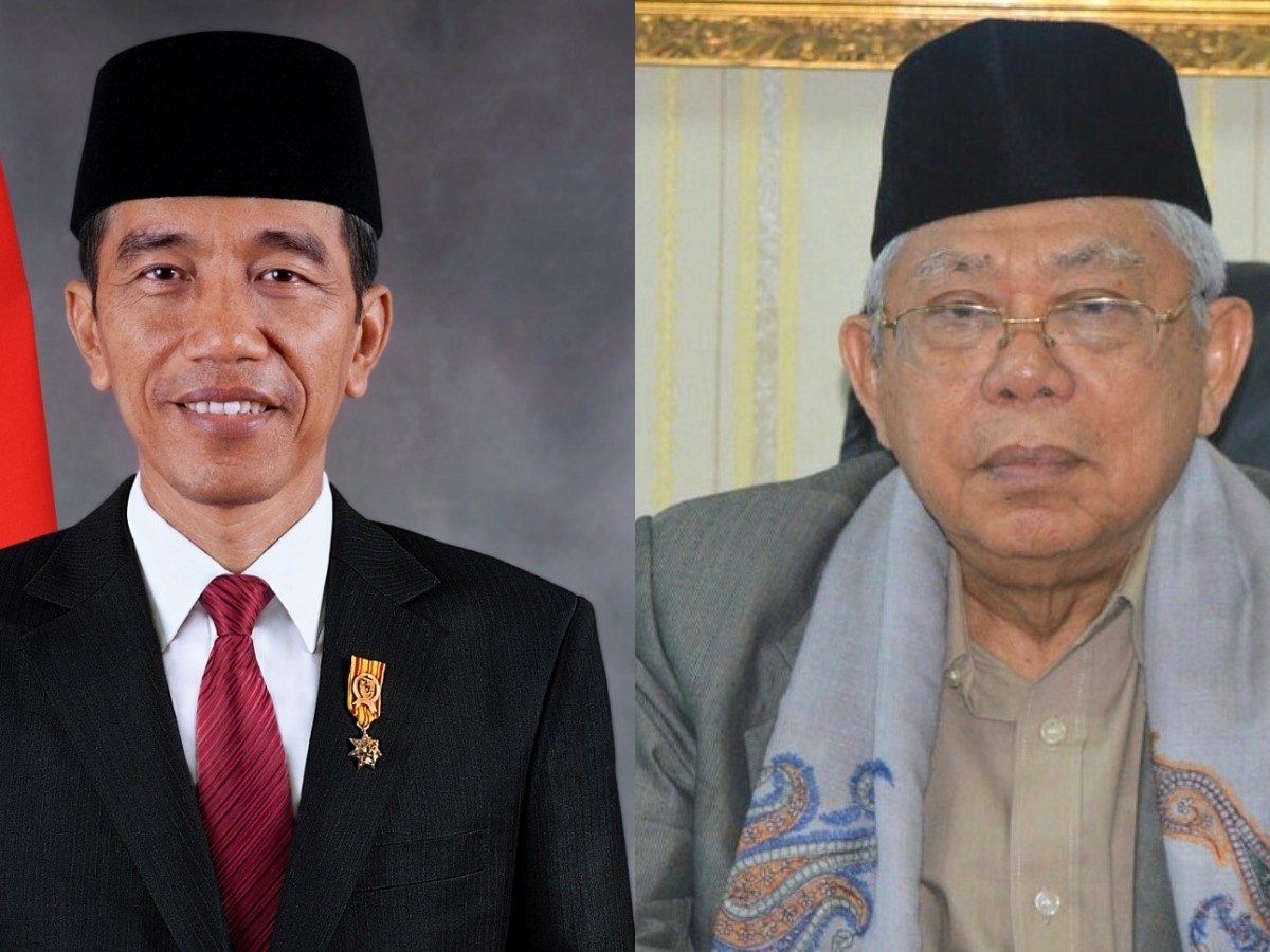 Jokowi and Ma'ruf - New Naratif