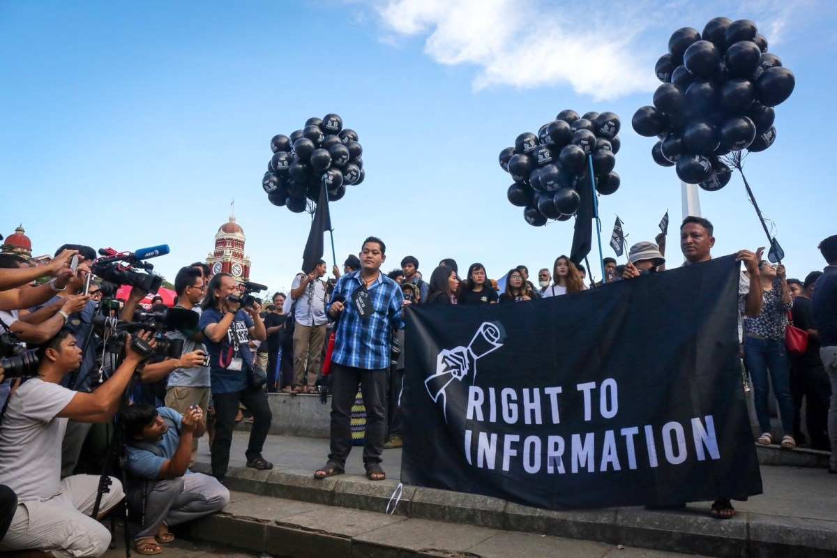 Freedom of Expression in Myanmar - New Naratif
