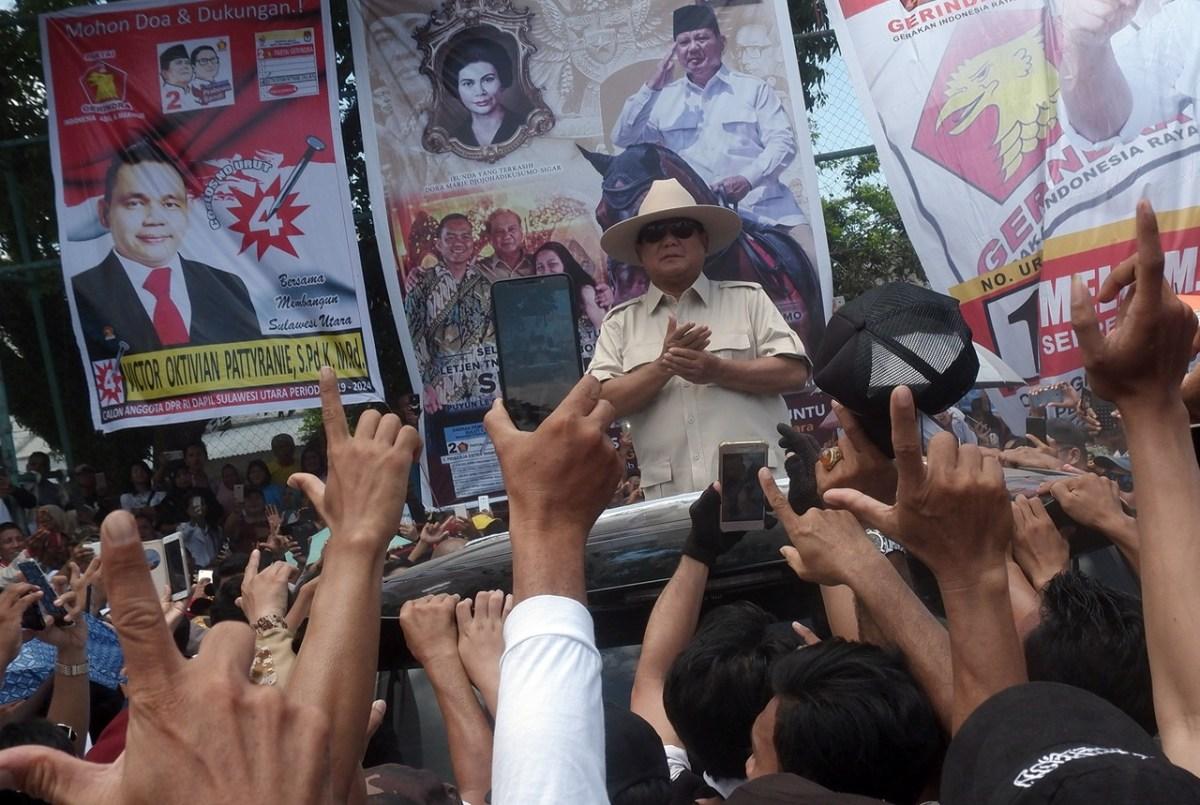 Prabowo in Manada - New Naratif