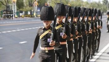 Thai coronation - New Naratif