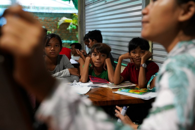 More than 100 youths are working in different locations around Phnom Penh's Stung Meanchey District to provide daily classes for children studying at home due to the COVID-19 pandemic.