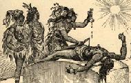 Aztec ritual human sacrifice