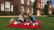 Picnic in the gardens