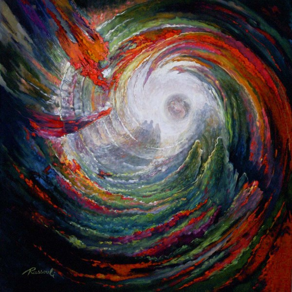 Creation Abstract Painting